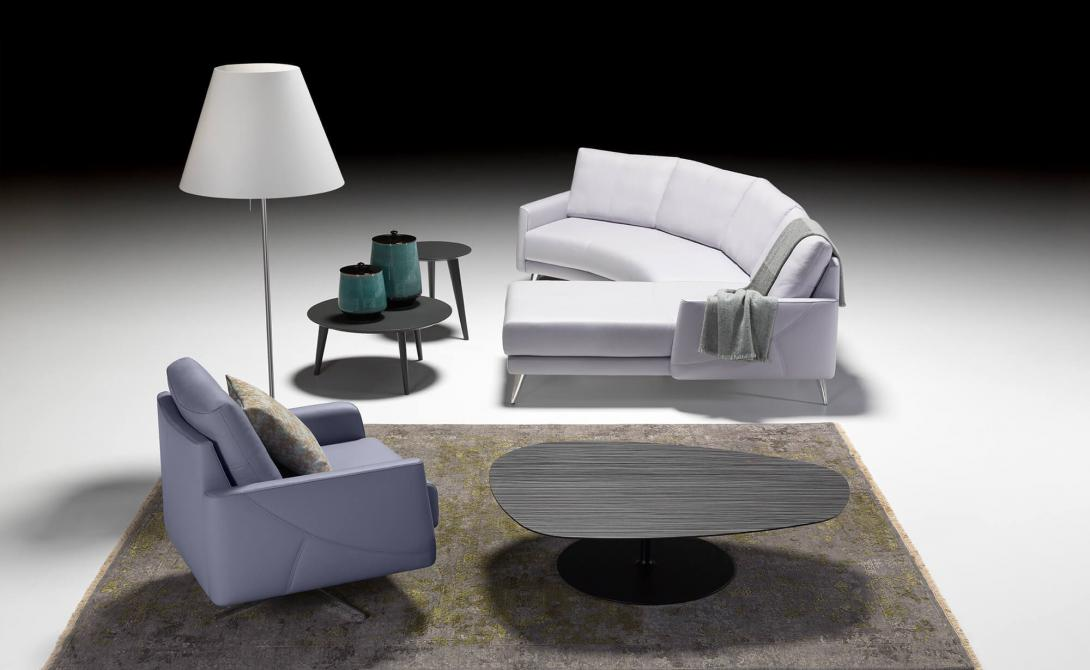 artanova switzerland thalia sofa canape sessel chair fauteuil exclusiv design moebel furniture meubles flieder lilac lilas leder leather cuir
